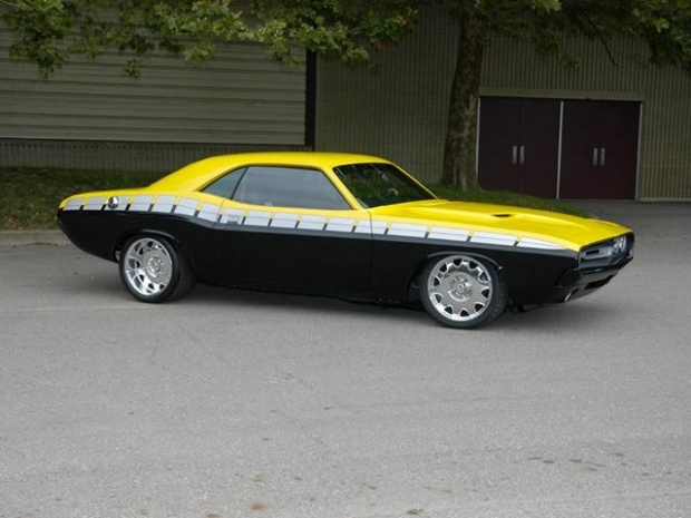 1970 Dodge Challenger muscle car