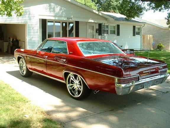 1966 Chevy Caprice muscle car