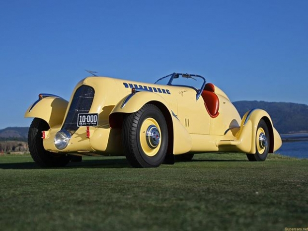 1935 Duesenberg SJ Speedster antique car