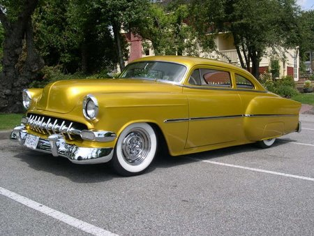 1953 Chevy old car