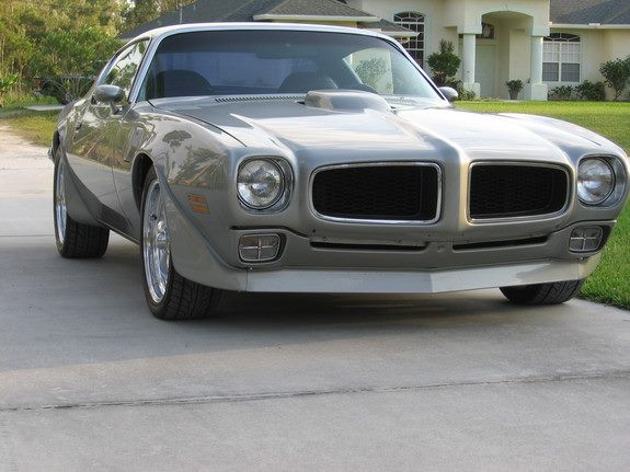 72 Pontiac Firebird Trans Am muscle car