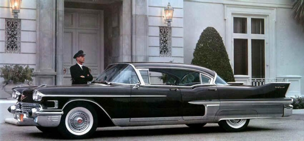 1958 Cadillac Fleetwood Sixty Special old car