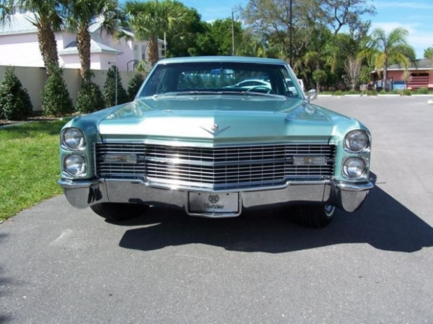 1966 Cadillac old car