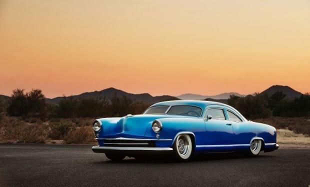 1951 Kaiser DeLuxe old car
