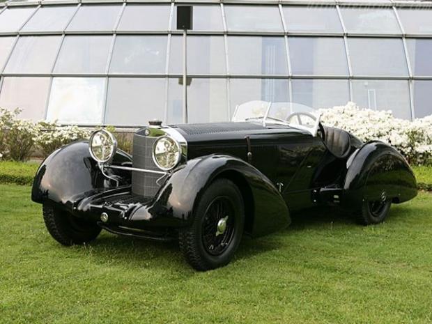 Mercedes SSK old car