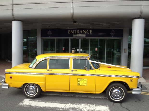 1981 Checker Cab old car