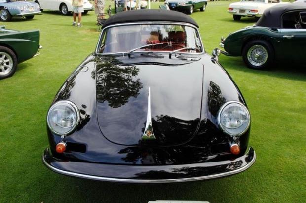 1964 Porsche 356 sports car