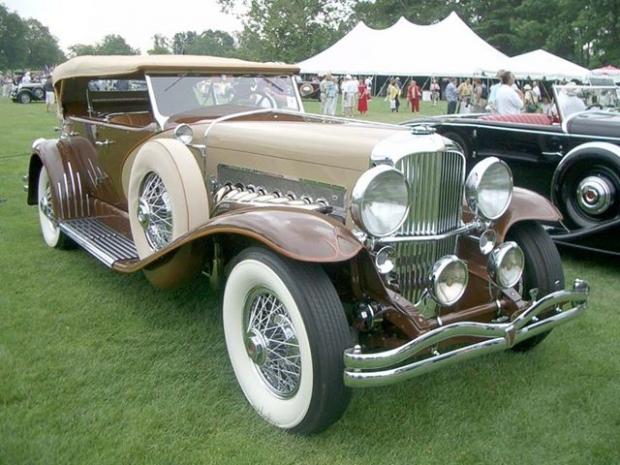1932 Duesenberg SJ sports car