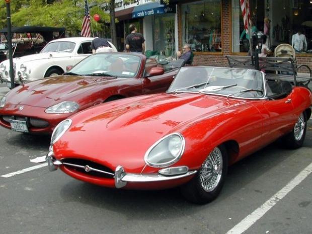 1961 Jaguar E-Type sports car