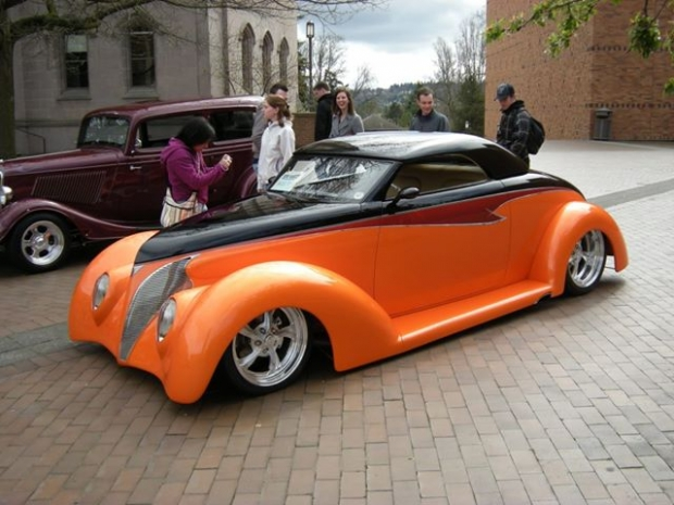 1939 Ford Coupe sports car