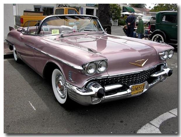 1958 Cadillac Eldorado Biarritz old car