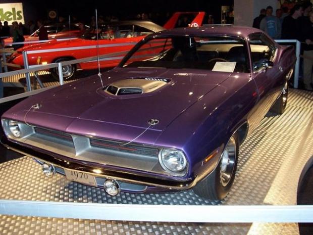 1970 Plymouth Hemi 'Cuda muscle car