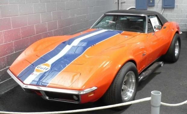 1969 Corvette sports car
