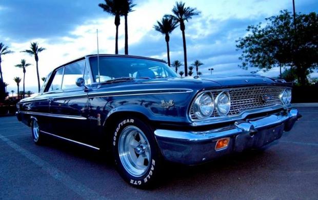 1963 Ford Galaxie old car