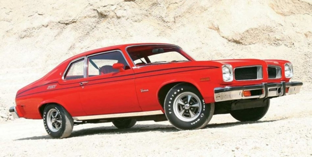 1974 Pontiac Ventura Sprint muscle car