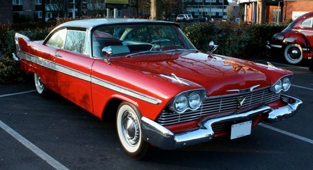 1958 Plymouth Fury muscle car