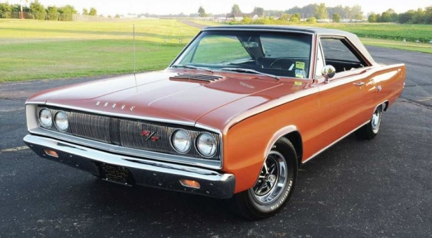 1967 Dodge Coronet RT muscle car