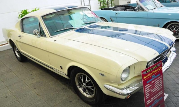 1966 Ford Mustang GT Fastback muscle car