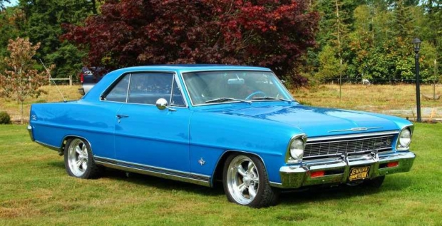 1966 Chevrolet Nova muscle car