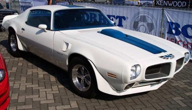 1971 Pontiac Firebird Trans Am muscle car