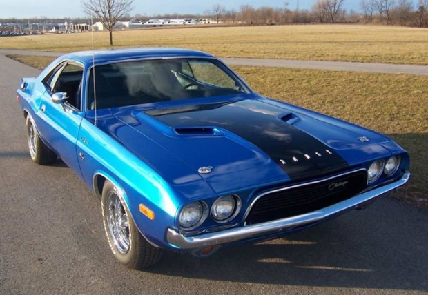 1972 Dodge Challenger muscle car