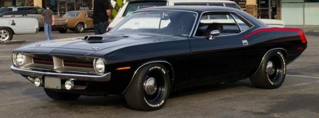 1970 Plymouth Hemi Cuda Coupe muscle car