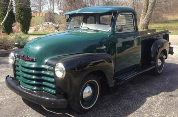 1947 Chevy 3100 1-2 Ton Pickup Truck