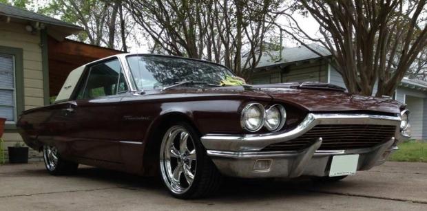 1964 Ford Thunderbird muscle car