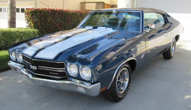 1970 Chevrolet Chevelle SS 454 muscle car