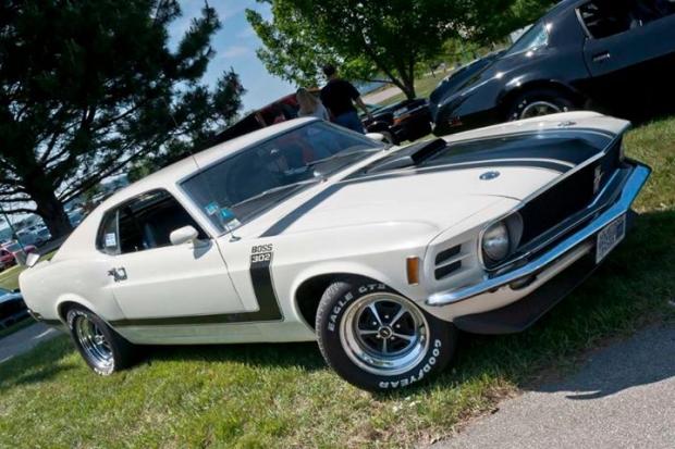1970 Mustang Boss 302 muscle car