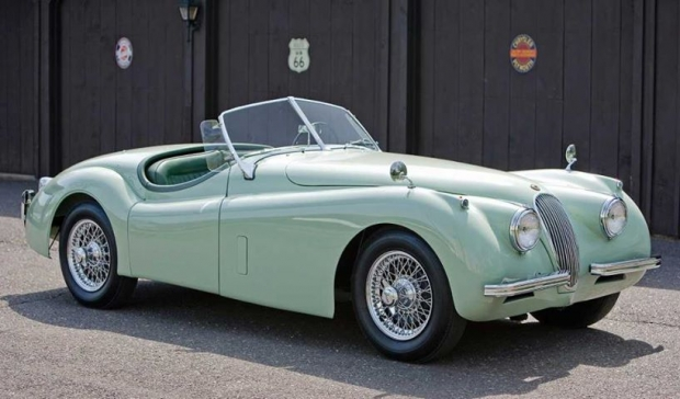 Jaguar XK120 Roadster sports car