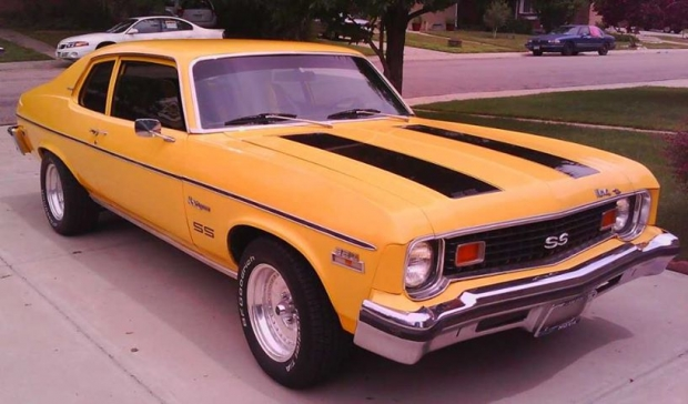1973 Chevrolet Nova SS muscle car
