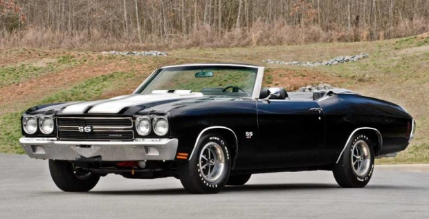 1970 Chevrolet Chevelle SS 454 LS6 Convertible