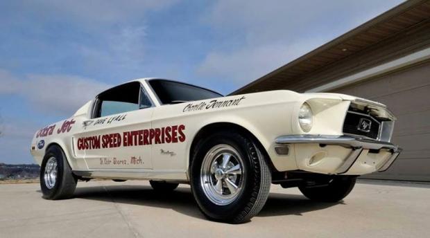 1968 Mustang Lightweight 428 Cobra race car