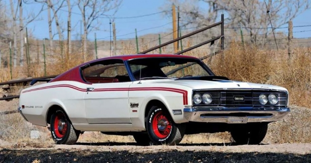 1969 Mercury Cyclone Spoiler II Cale Yarborough Special muscle car