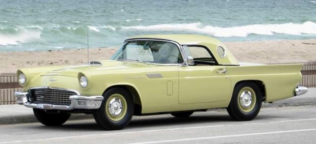 1957 Ford Thunderbird Phase I sports cars