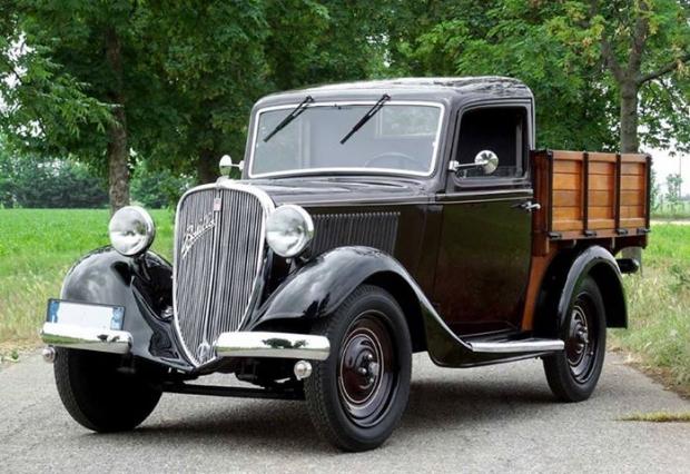1934 Fiat 508 A Balilla Cammioncino Pickup Truck