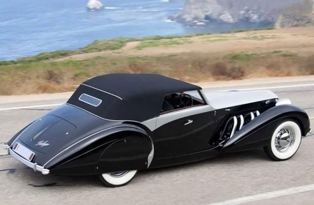 1938 Delage D8 120 Cabriolet