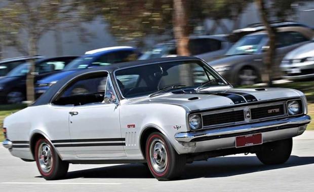 1969 Holden Monaro GTS Australian muscle car
