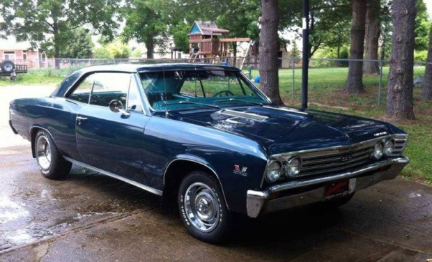 1967 Chevrolet Chevelle, muscle car