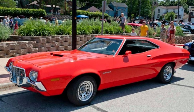 1972 Ford Gran Torino muscle car