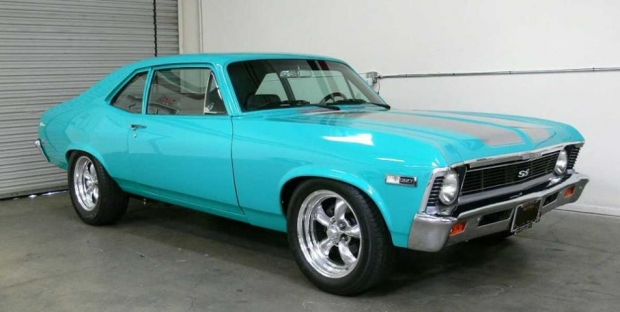 1968 Chevrolet Nova muscle car