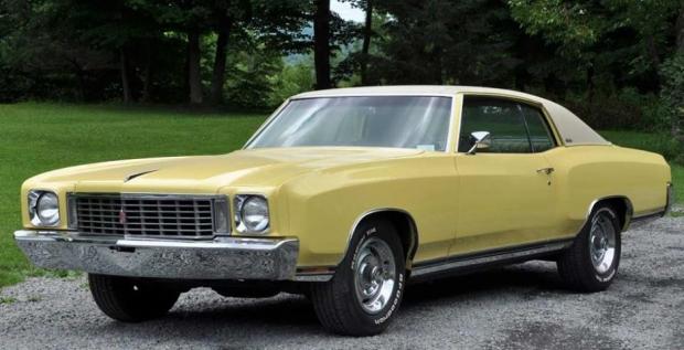 1972 Chevrolet Monte Carlo muscle car