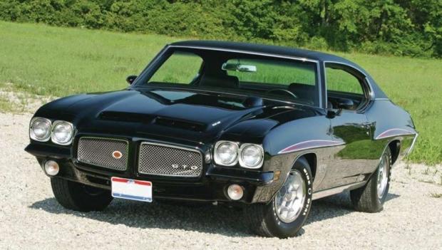 1971 Pontiac GTO muscle car