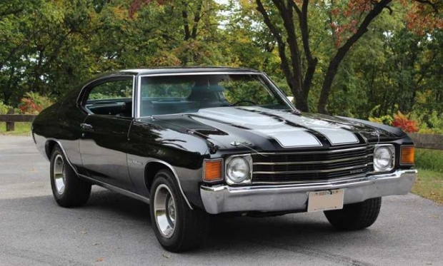 1972 Chevelle muscle car