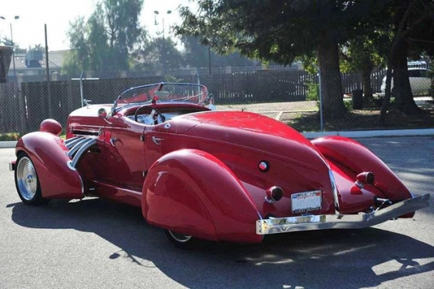 1936 Auburn BoatTail Speedster luxury car