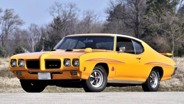 1970 Pontiac GTO muscle car