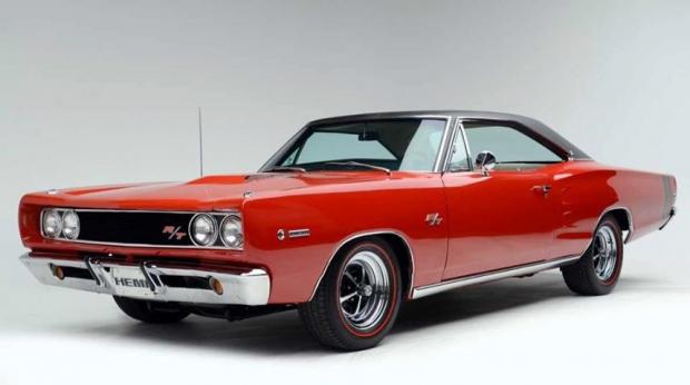 1968 Dodge Coronet R-T 426 Hemi muscle car