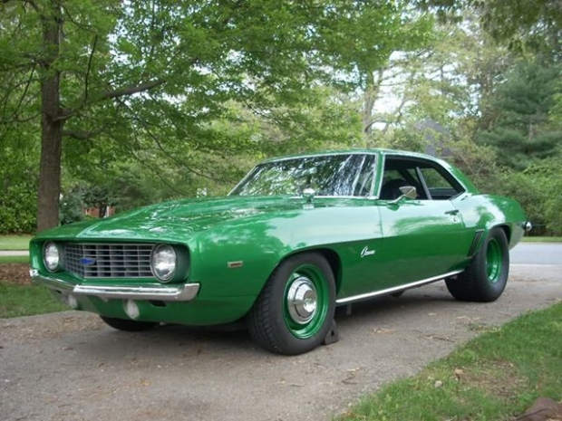 1969 COPO Camaro muscle car