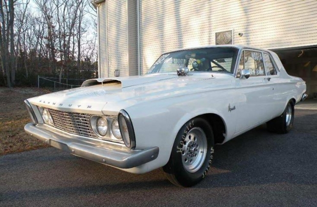1963 Plymouth Savoy muscle car